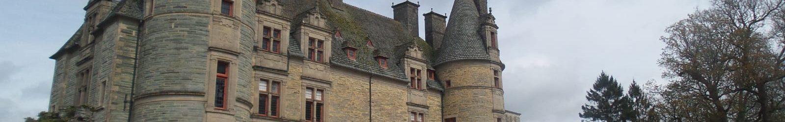 Visite du parc du château des Ravalets